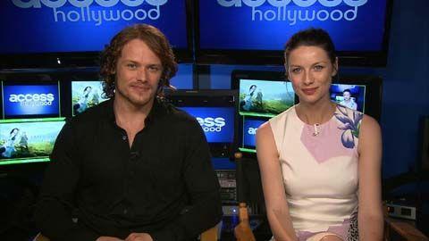 'Outlander': Sam Heughan & Caitriona Balfe On Episode 3