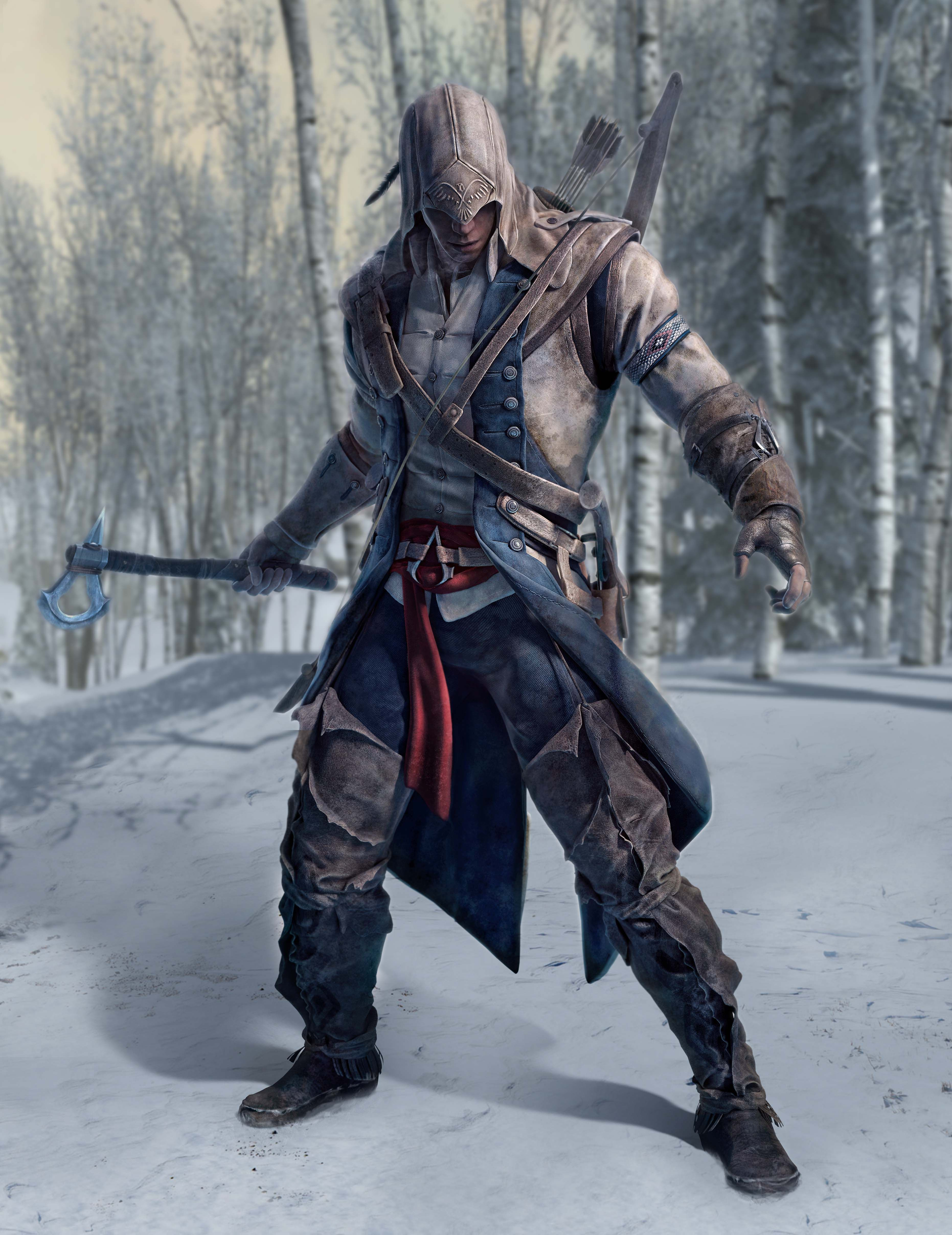 Connor Kenway From Assassin S Creed Iii Inspiration For Ashwin