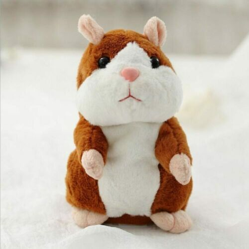 Talking Hamster Mouse Plush Toy Speak Sound Record Electric Toy fr Children Gift