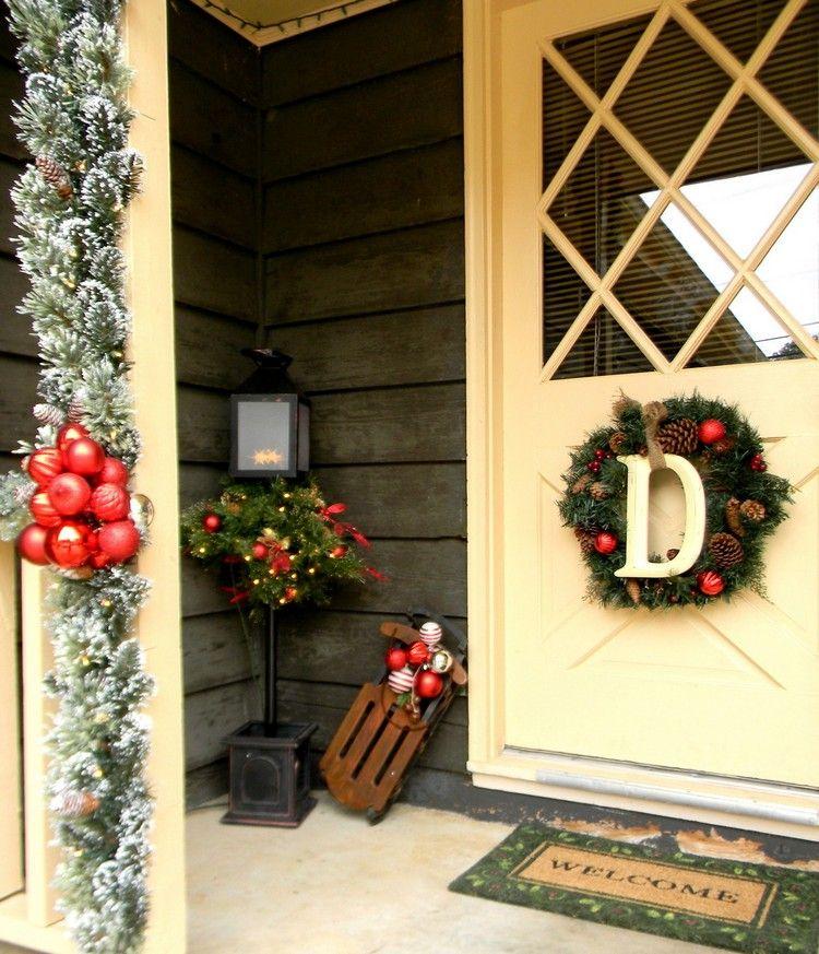 Ideen fur weihnachtsdeko vor der haustur frohe weihnachten in europa - Billige weihnachtsdeko ...