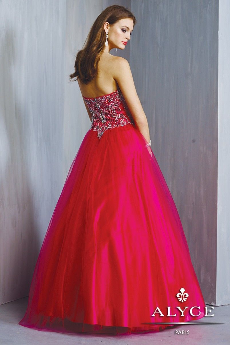 Alyce Prom Dress Style #6324 Back View   | Fall 2014