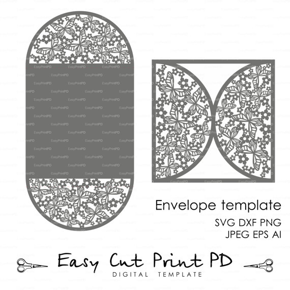 Butterfly wedding invitation card cover template svg dxf ai eps butterfly wedding invitation card cover template svg dxf ai eps png laser cut digital instant download silhouette cameo cricut stopboris Gallery