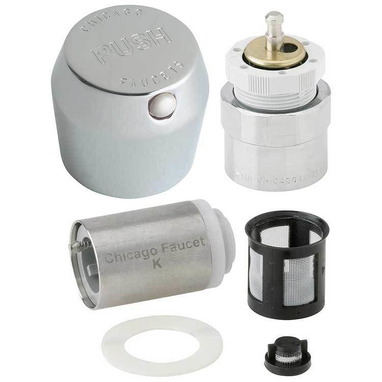 Retrofit Kit Mvp Metering Push Button 1 3 4 Inch Faucet Chrome