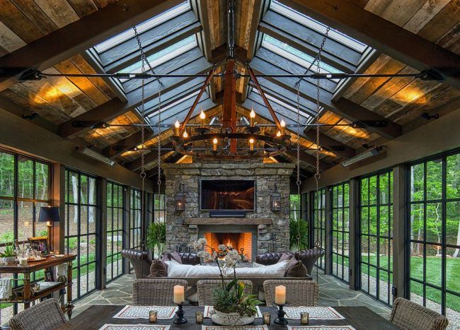 Photo of Timeless Allure: 30 Cozy and Creative Rustic Sunrooms