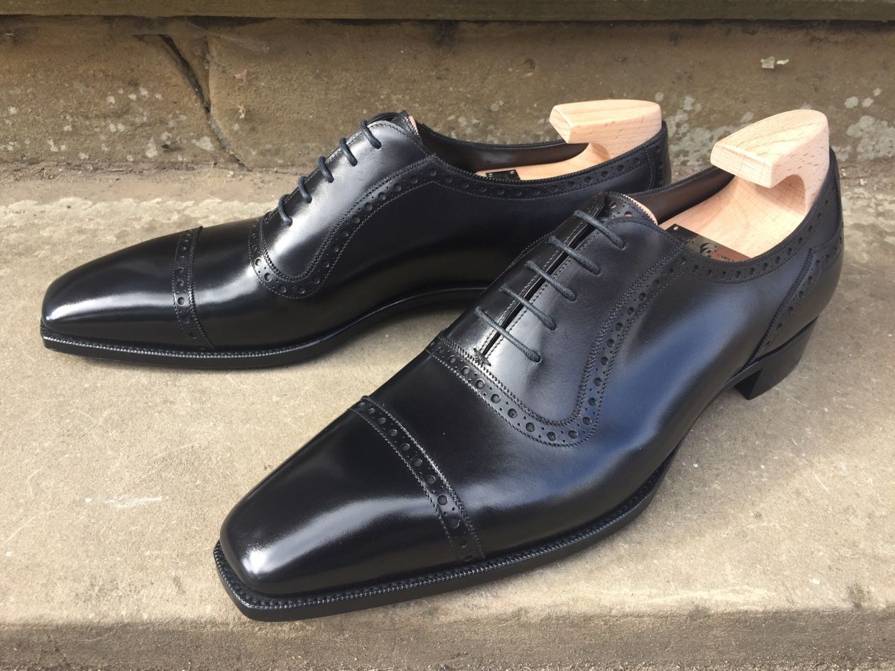 6ffa6c5735f Bespoke-England — St James II in Black Calf on the TG73. - These are ...