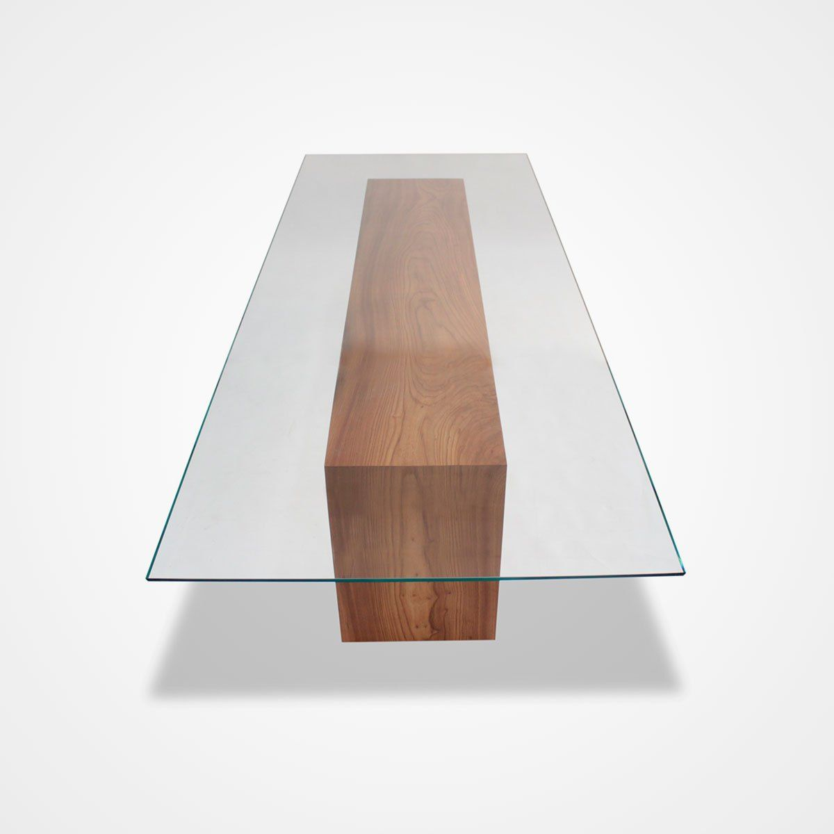 Glass Topped Solid Wood Dining Table Rotsen Furniture Contemporary Dining Table Wood Dining Table Wood Coffee Table Design