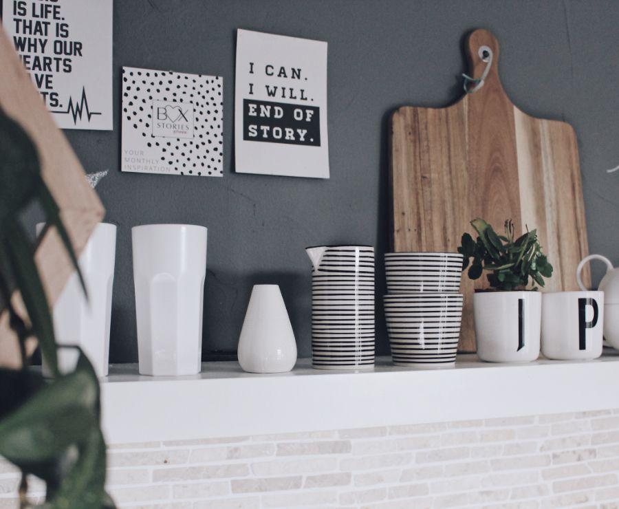 Küche neu gestalten - schnell und einfach mit Tafelfarbe | Küche ...