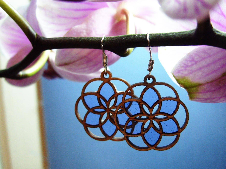 Wood earrings prince lotus wooden earrings with resin wood and wood earrings prince lotus wooden earrings with resin wood and resin earings izmirmasajfo Image collections