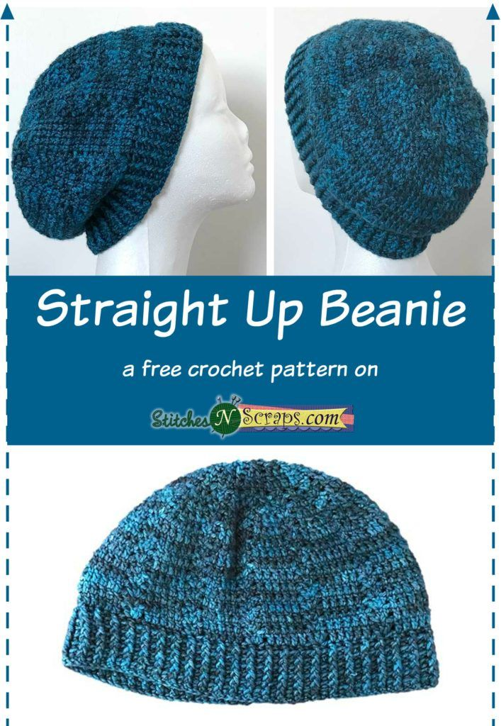 Free Pattern - Straight Up Beanie