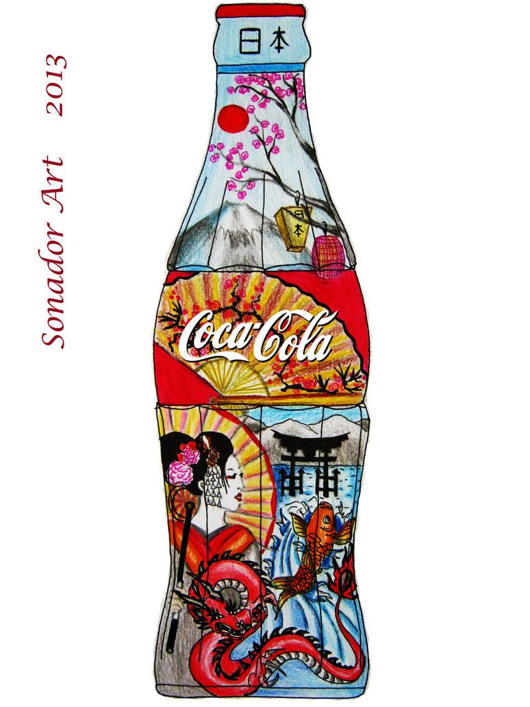 Coca Cola Japan by SonadorArt