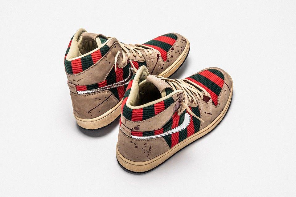 Freddy Krueger-Themed Air Jordan 1
