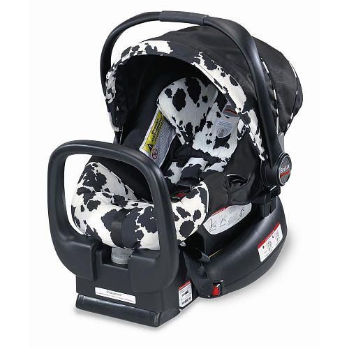 Britax Chaperone Infant Car Seat Cowmooflage Britax