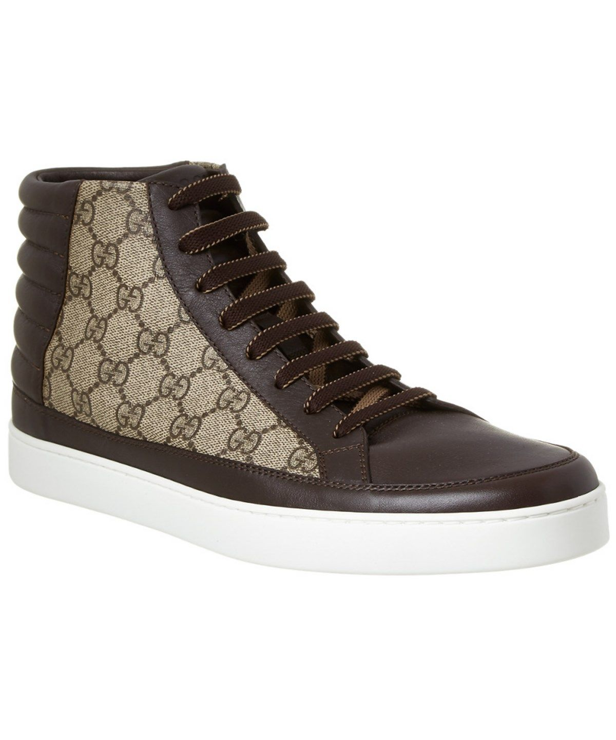40c85f45 GUCCI Gucci Gg Supreme High Top Sneaker'. #gucci #shoes #shoes ...