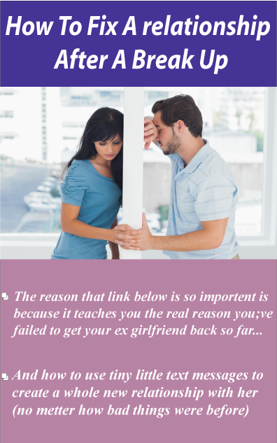 How to repair a relationship after a breakup