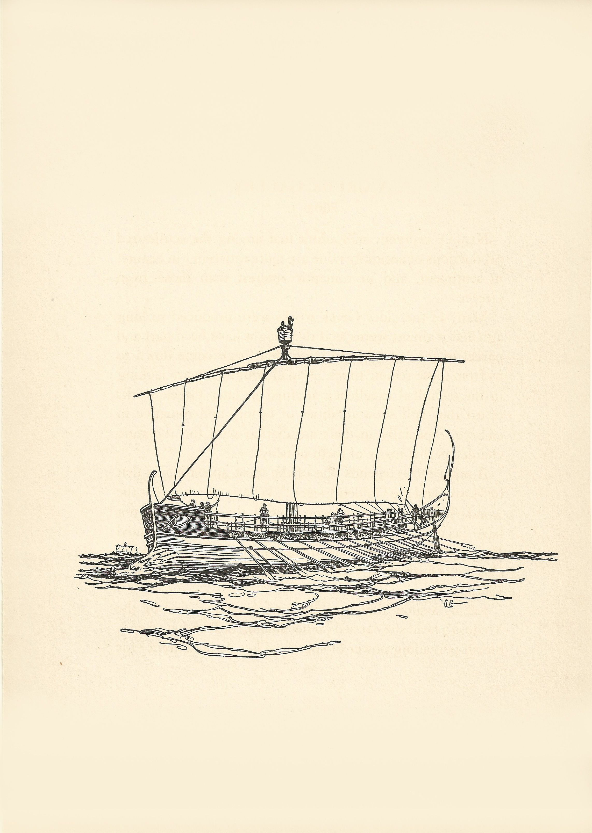 ship drawing paper - photo #19