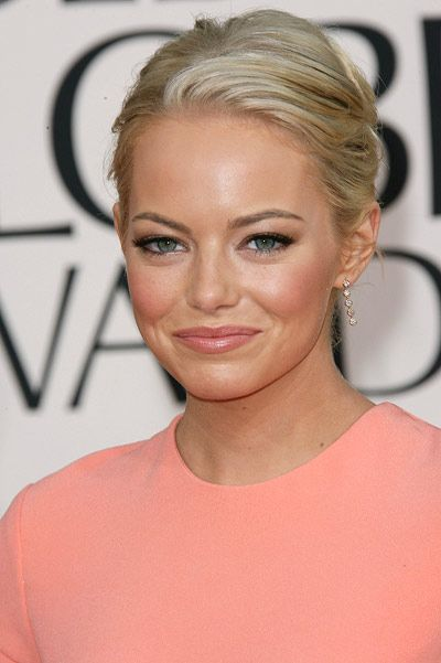 Photo of Emma Stone Makeup & Hair: 68th Annual Golden Globe Awards
