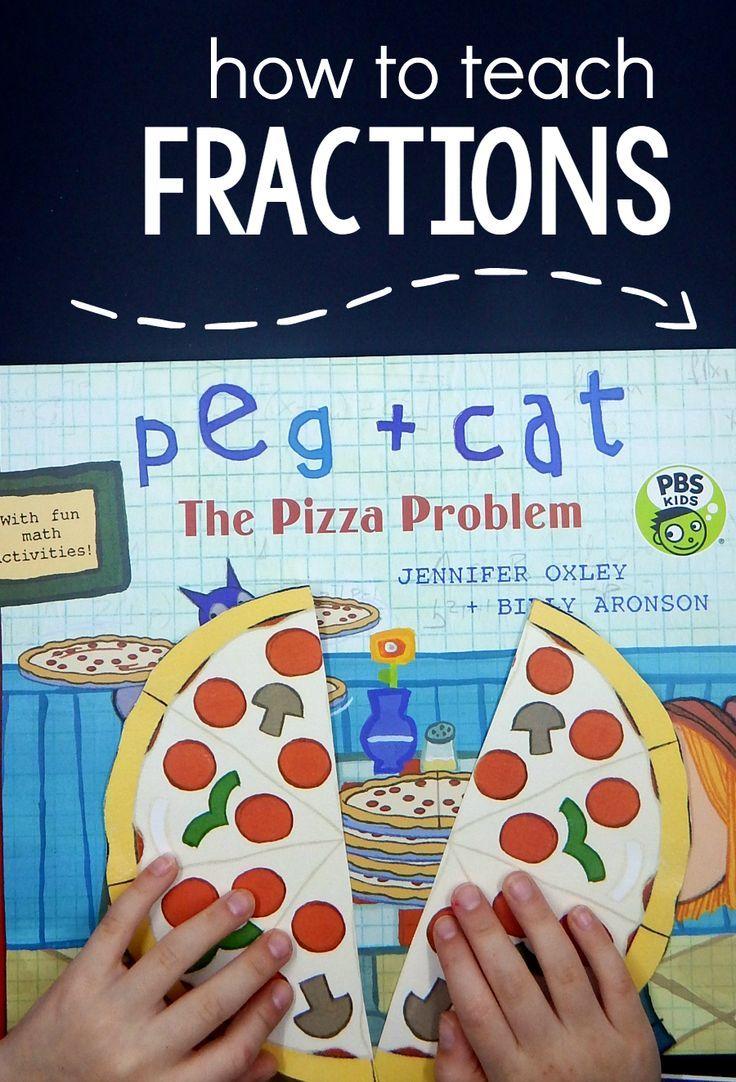 How to teach fractions | MATH in Kindergarten | Pinterest | Fraction ...