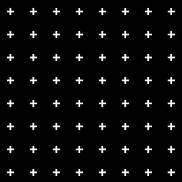 White Plus on Black /// www.pencilmeinstationery.com Art Print ...