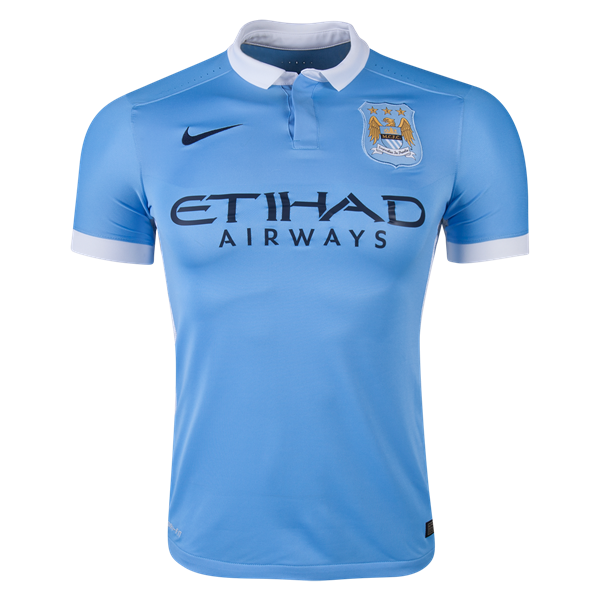 Nike Manchester City Authentic Home Jersey 15/16 Soccer