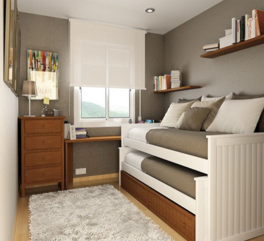55 Creative Bedrooms Twin Beds Ideas Small Rooms Home Decor
