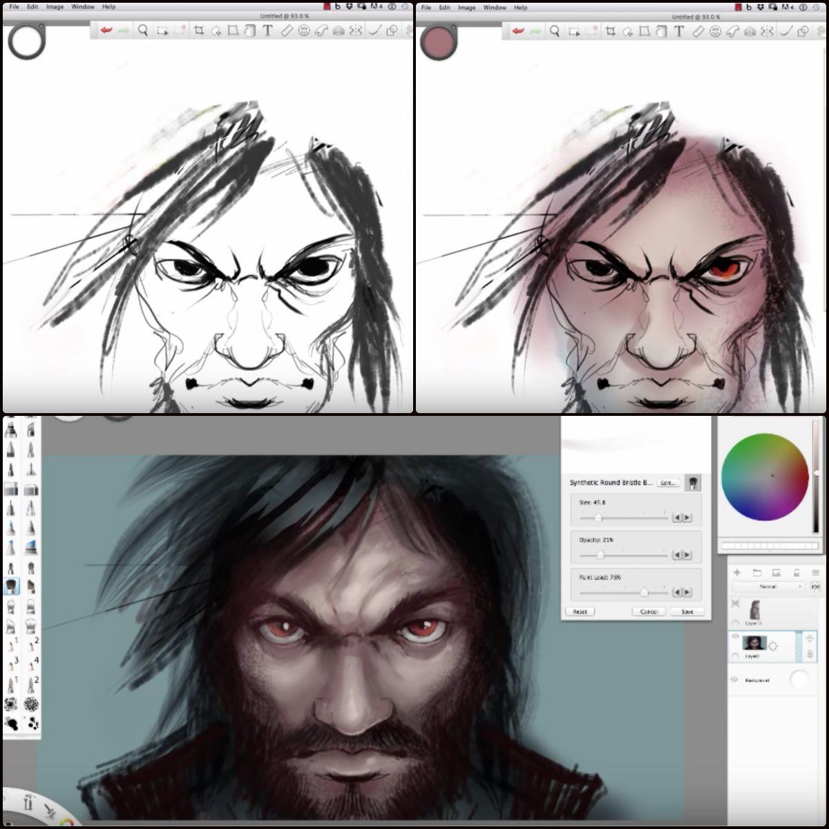 Sketchbook Blog Full Of Good Info And Tutorials Digital