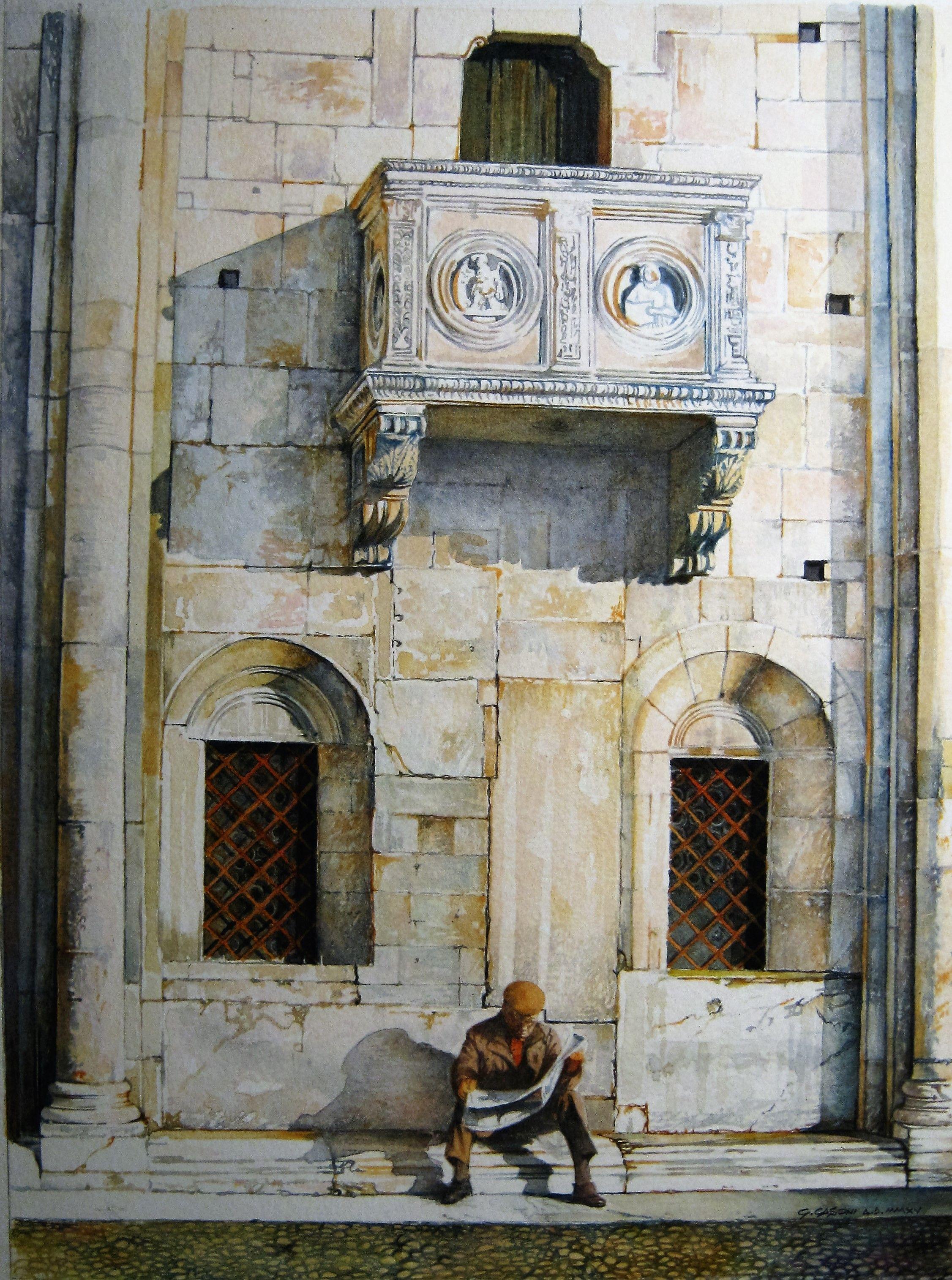 Duomo di Modena,particolare