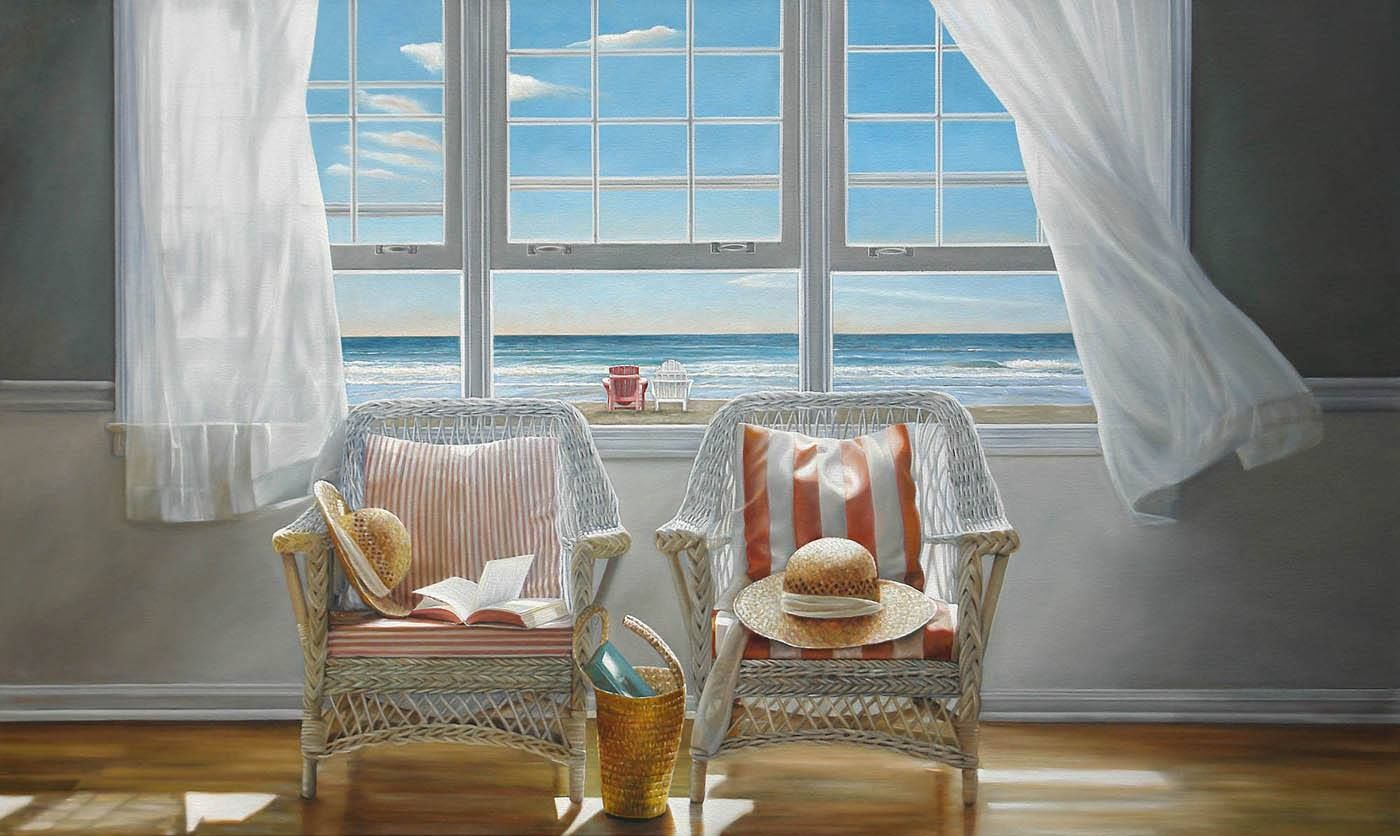 Karen Hollingsworth, 1955 | WindowScape painter | Tutt'Art@ | Pittura * Scultura * Poesia * Musica |