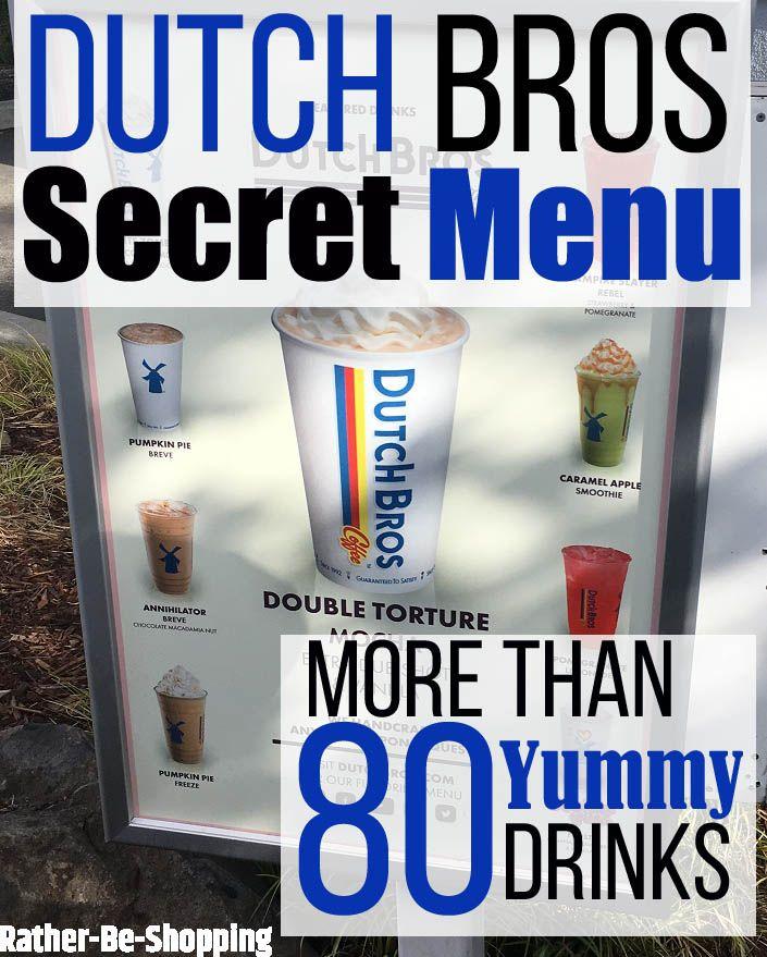 Dutch Bros Secret Menu #dutchbros