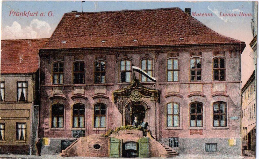 alte ak 1916 frankfurt oder museum lienau haus ansichtskarten fotos pinterest geschichte. Black Bedroom Furniture Sets. Home Design Ideas