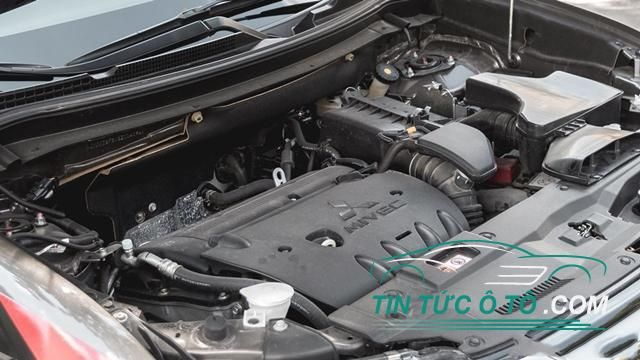 Mitsubishi Outlander bản lắp ráp vẫn có 2 tuỳ chọn động cơ MIVEC 4 xy-lanh
