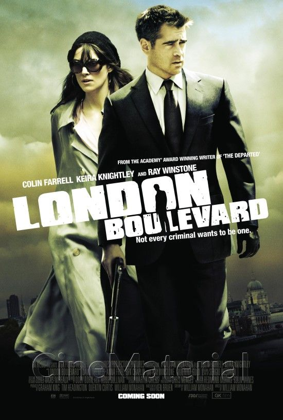 London Boulevard  Charlotte:If I fell in love with you, what would you do about it? Mitchel:Everything.