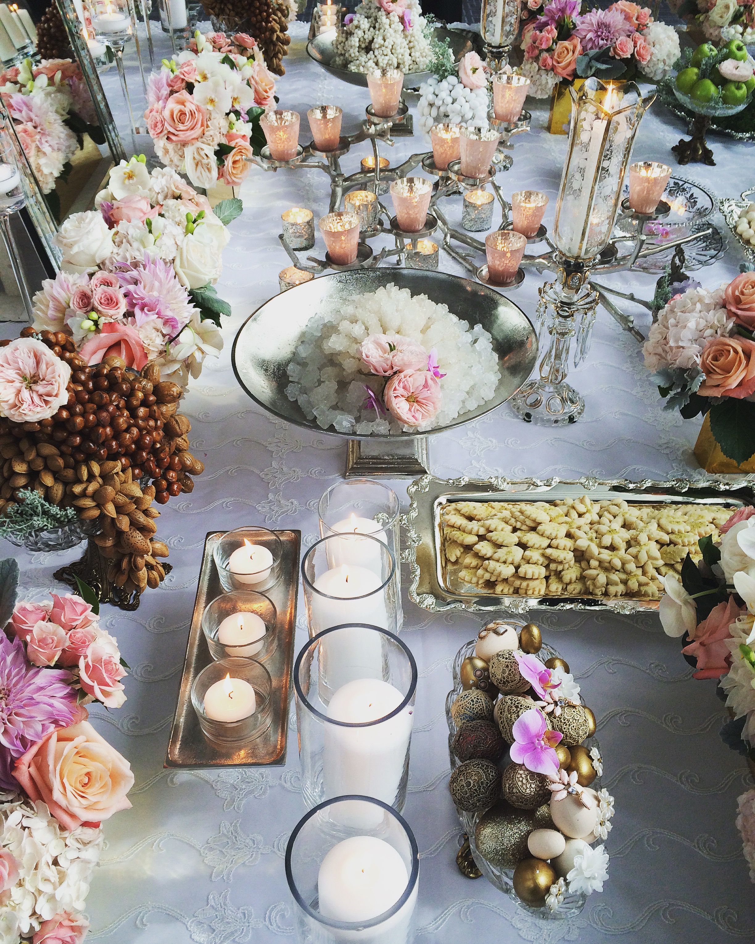 Bits and Blooms Inc. Sofreh Aghd Persian Wedding - Four Seasons Toronto