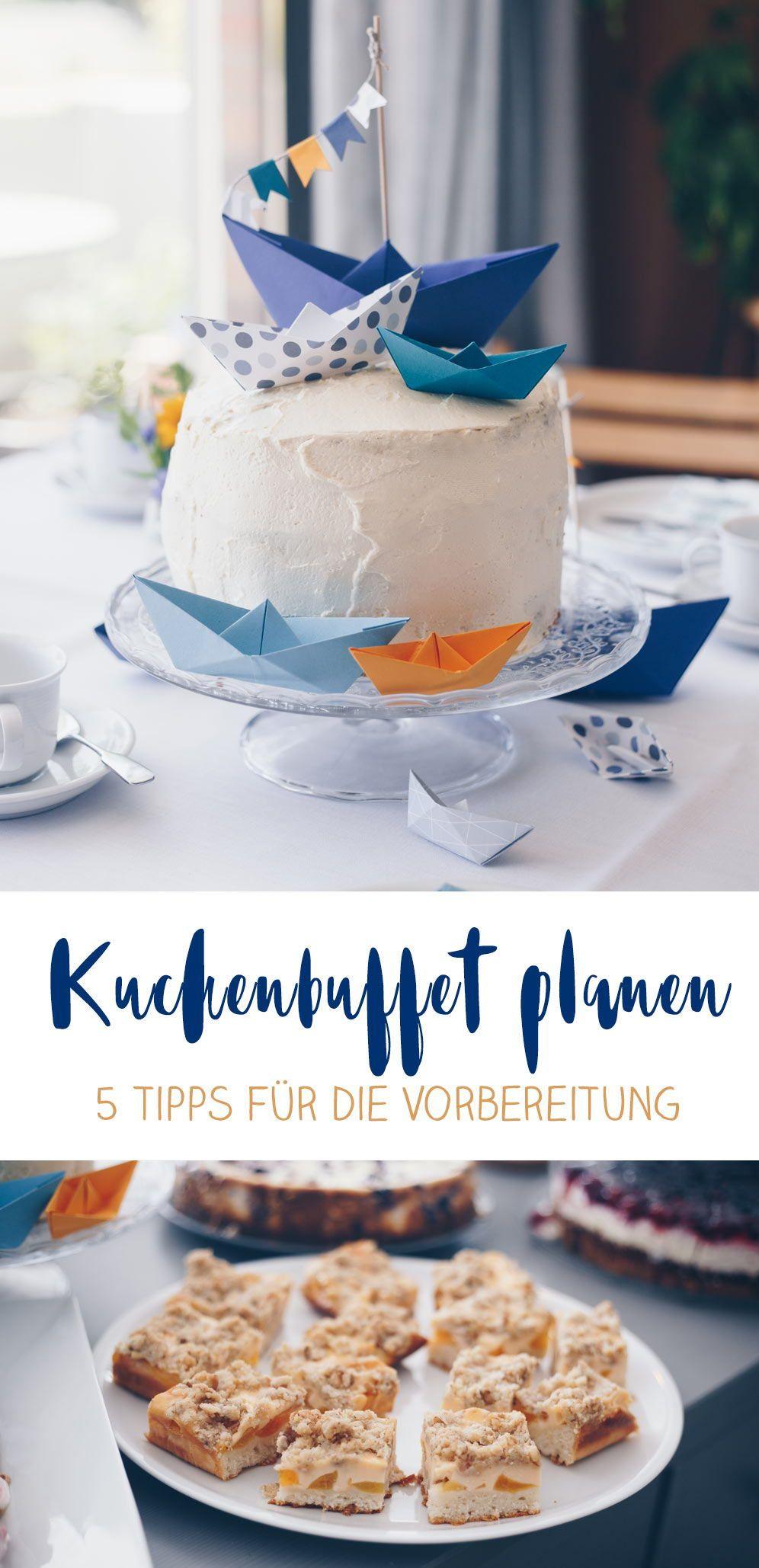 5 Tipps Kuchenbuffet Zur Taufe Planen Carrot Cake