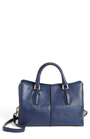 Tod S D Cube Leather Per Available At Nordstrom