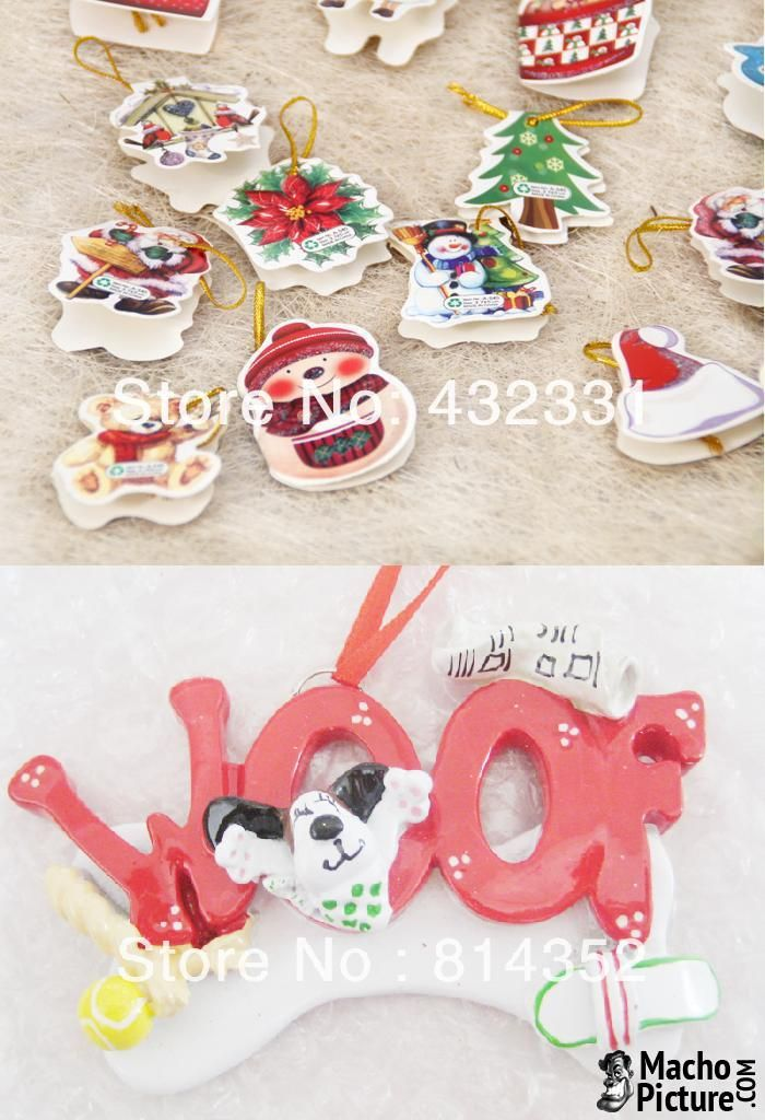 Cheap personalized christmas ornaments - 3 PHOTO! Christmas