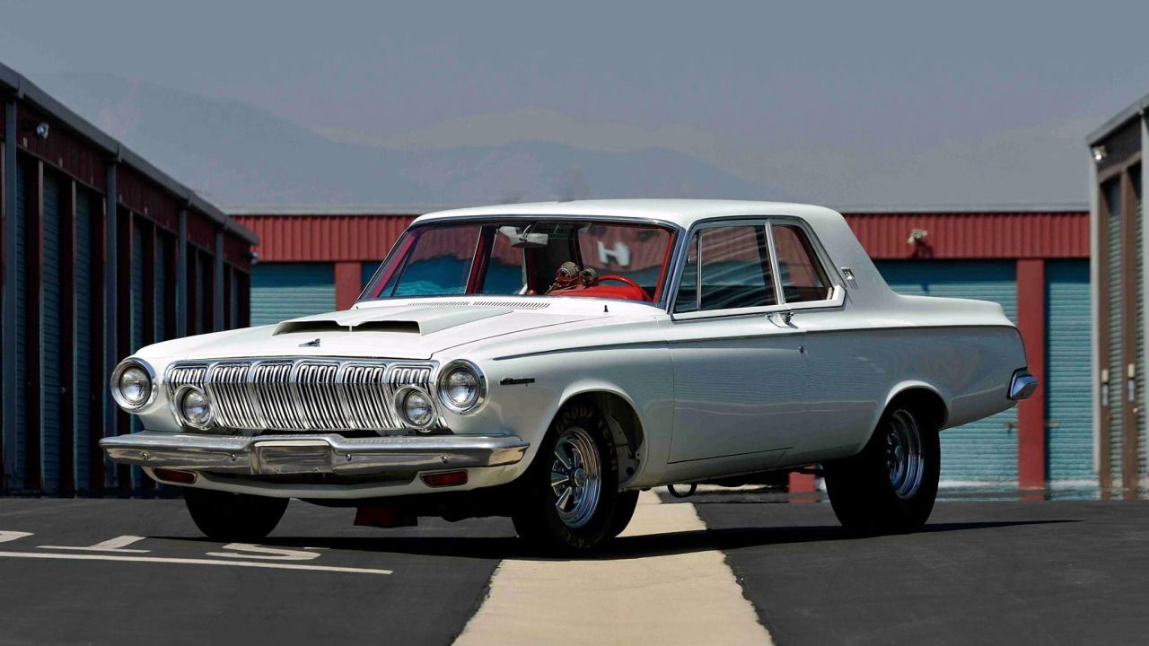 63 Dodge 330 factory lightweight… Mopar Monday | Autoja | Pinterest ...