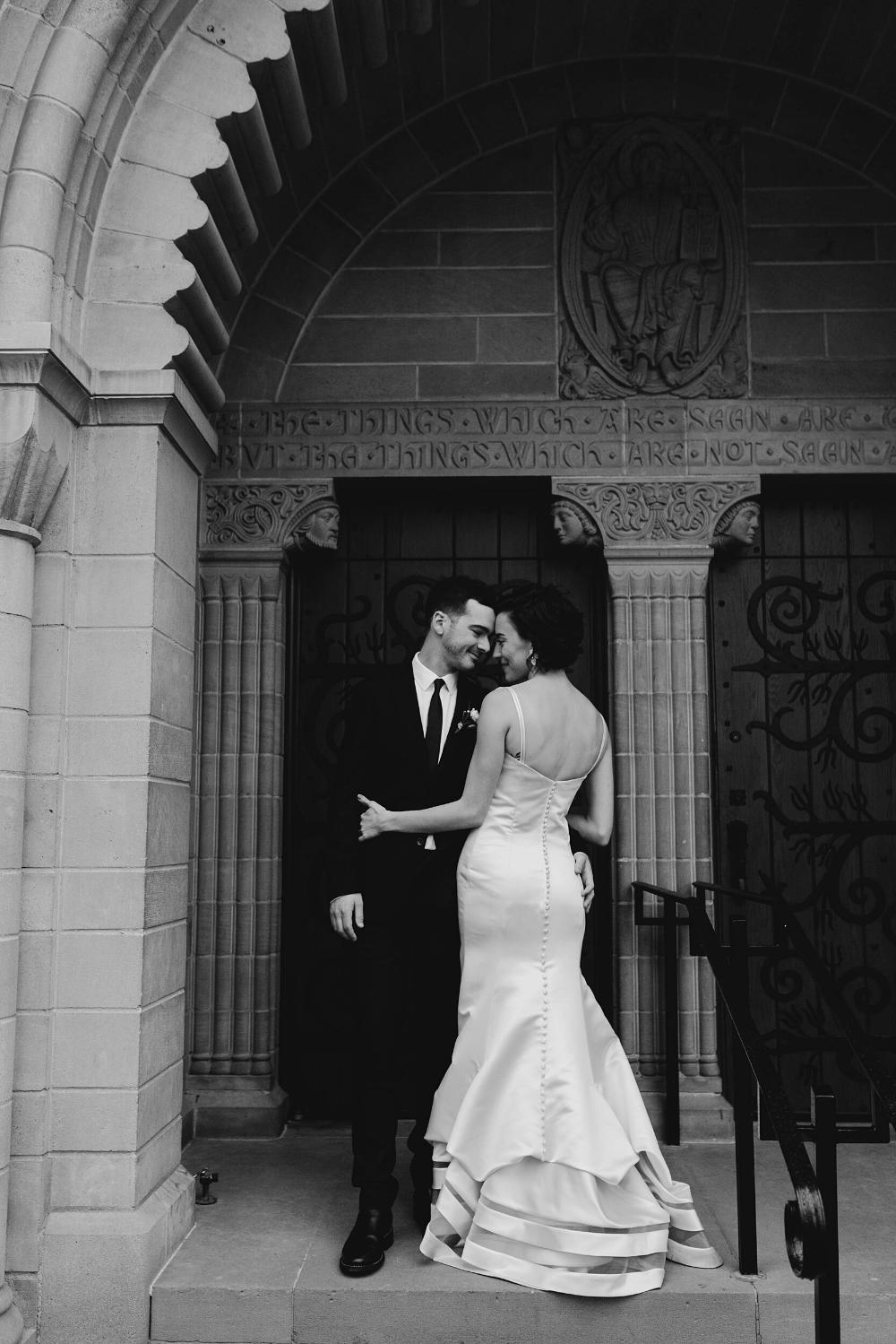 Rachel + Ben // Downtown Colorado Springs Wedding Dallas