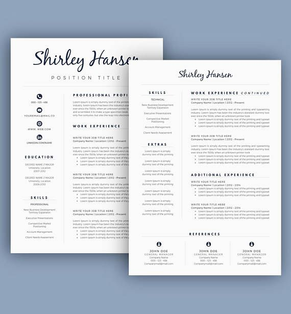 exclusive deal get 8 resume templates 8 matching cover letters