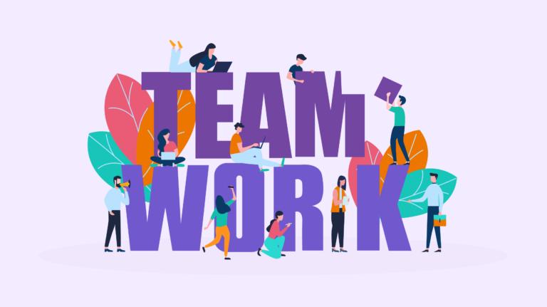تقرير عن العمل ضمن فريق موسوعة طيوف Teamwork Quotes Motivational Quotes For Employees Teamwork And Collaboration