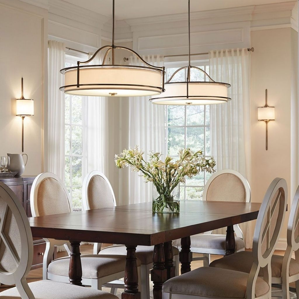 Dining Room Drum Chandelier Dining Room Drum Lighting Qacico
