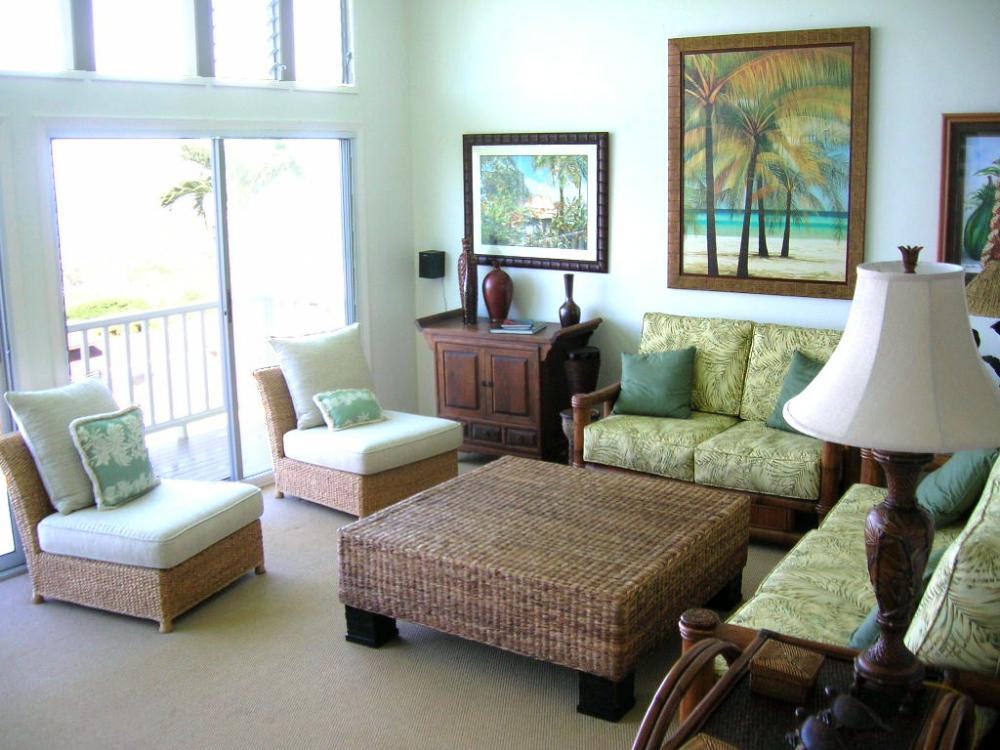 20 Refreshing Tropical Living Room Design Ideas Living