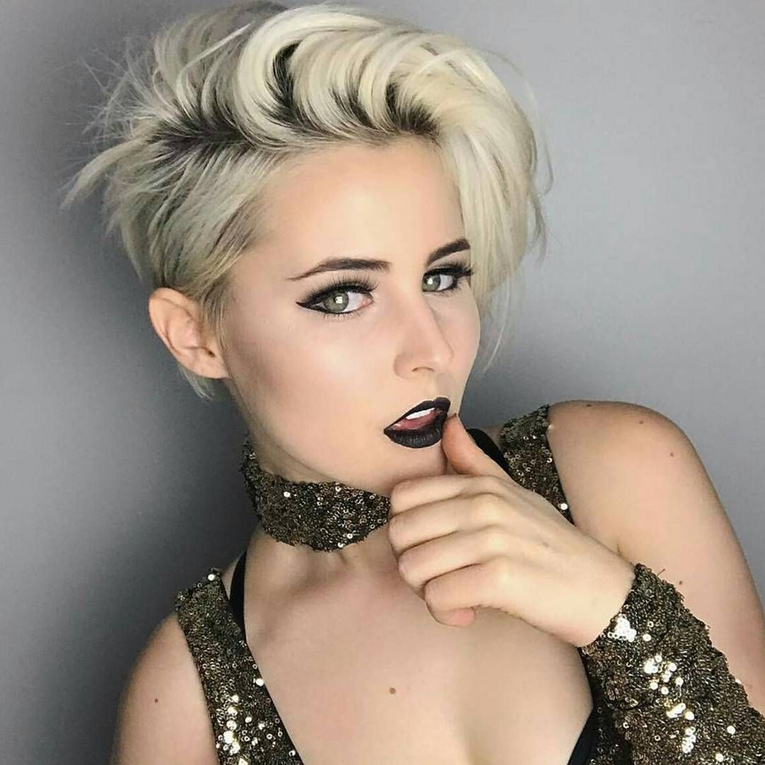 3,406 Likes, 78 Comments - Short Hairstyles Pixie Cut ...