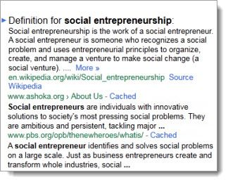 Social Entrepreneur Definition The People Building