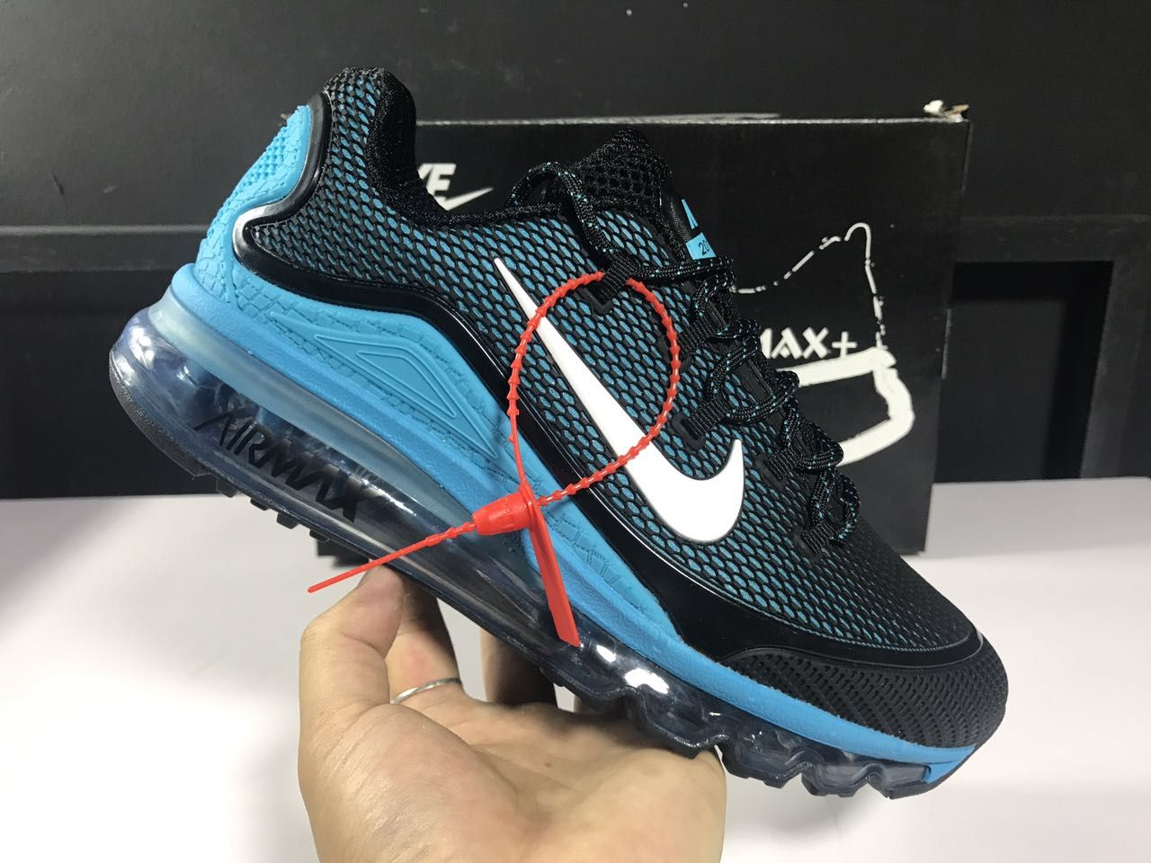 Men's Nike Air Max 2018 Elite KPU TPU Shoes BlackJade