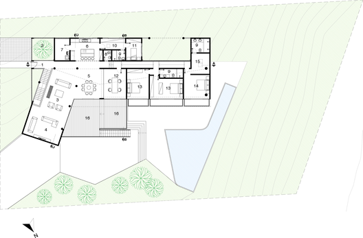 Residencia D&P  / Atelier Paralelo