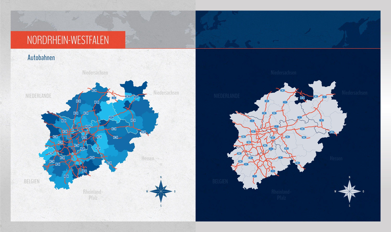 Landkarte Nrw Nordrhein Westfalen Mit Landkreisen Landkarte Bayern Bayern Karte Landkarte