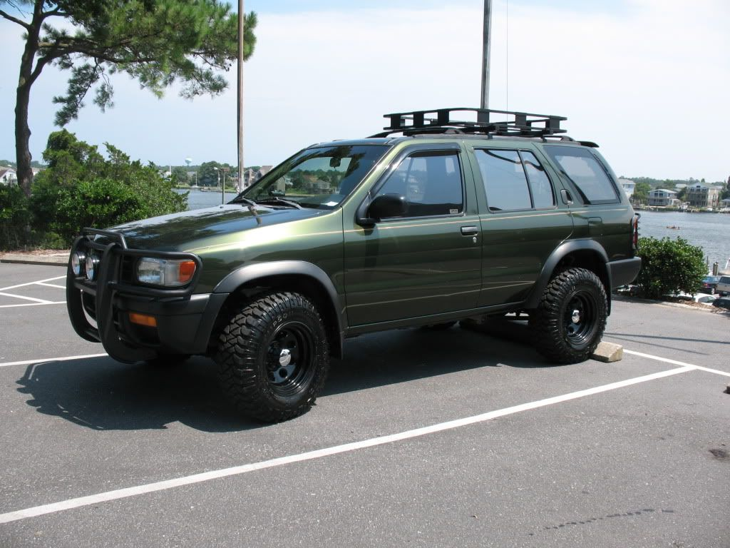 Pathfinder Roof Rack