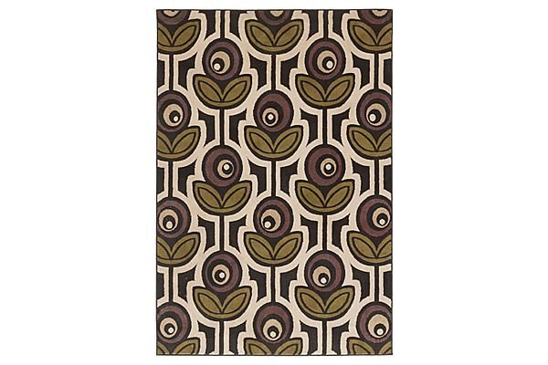 The Thistle Black 5x8 Rug From Ashley Furniture Home Afhs
