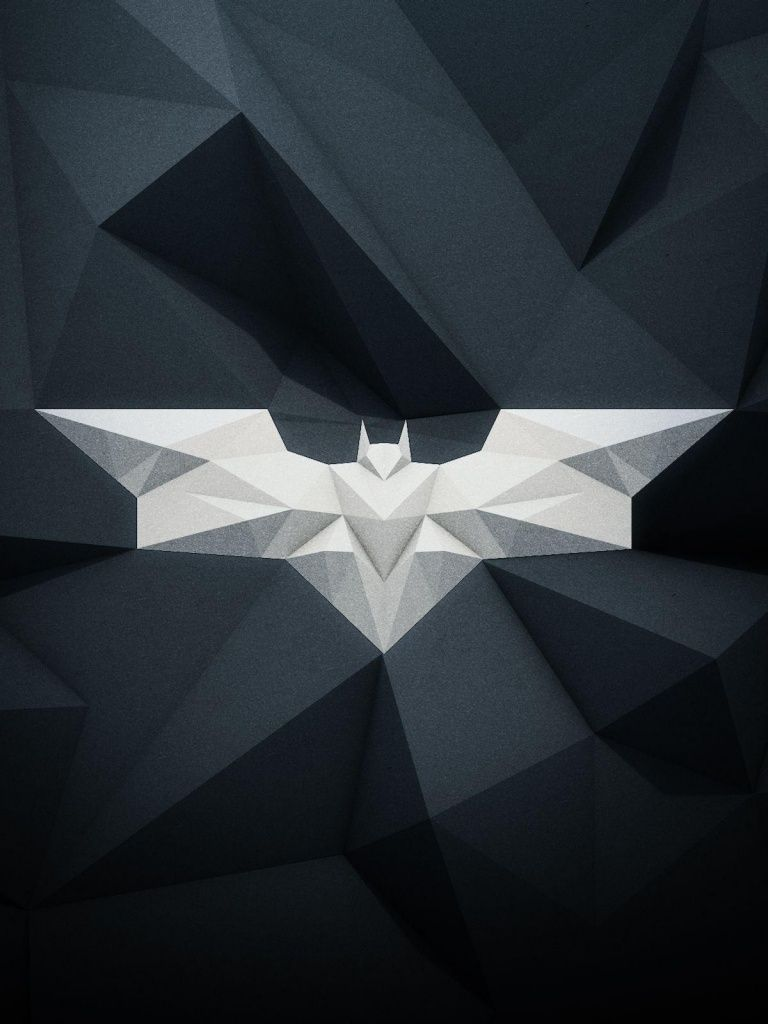 Modern Batman Logo Batman Wallpaper Superhero Wallpaper Batman