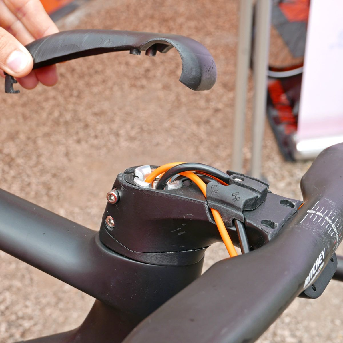 Ktm Revelator Lisse Fully Integrated Cockpit Carbon Disc